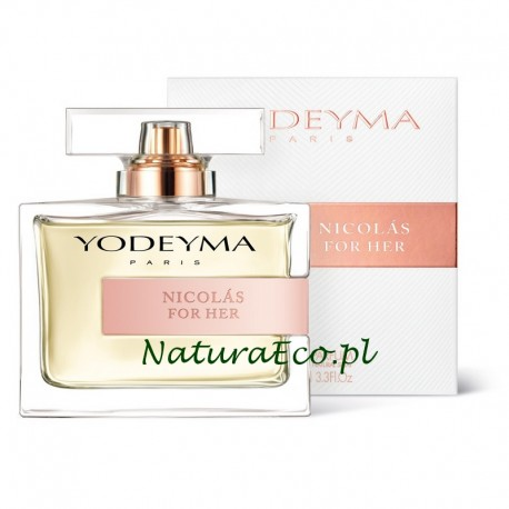 PERFUMY DAMSKIE NICOLAS FOR HER 100ml. YODEYMA