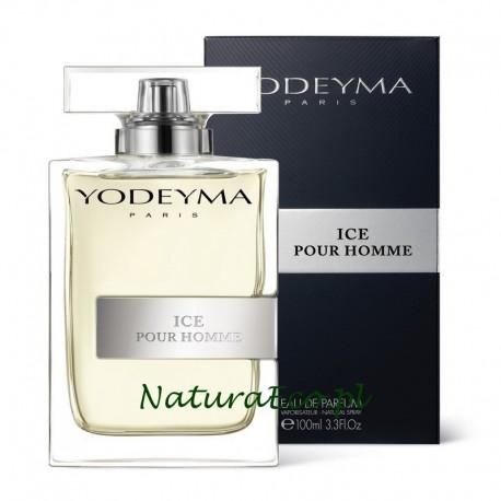 PERFUMY MĘSKIE ICE POUR HOMME 100ml. YODEYMA