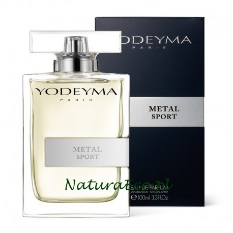 PERFUMY MĘSKIE METAL SPORT 100ml. YODEYMA
