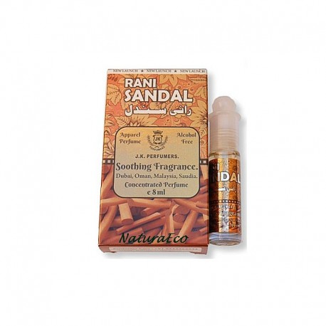 Orientalne Arabskie Perfumy w Olejku Rani Sandal 8ml.