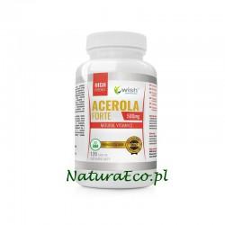 ACEROLA FORTE 500 mg Naturalna Witamina C 120 tab.
