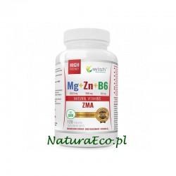 MAGNEZ + CYNK + B6 - MEGA DAWKA 120 tabletek