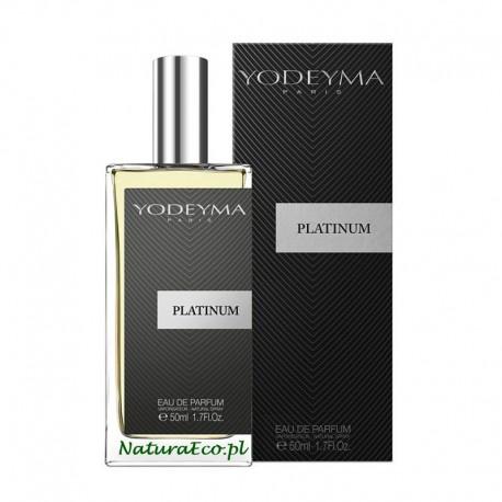 PERFUMY MĘSKIE PLATINUM 50ml. YODEYMA